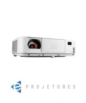 NEC M323X XGA DLP Portable Projector from Ivojo Multimedia Ltd. http://www.ivojo.co.uk/projector-spec.php?pid=NEC_M323X: 3200 ANSI Lumens, 10000:1 contrast ratio, 3.48kg., 3 years pan-European service warranty.