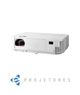 NEC M363X XGA DLP Portable Projector from Ivojo Multimedia Ltd. http://www.ivojo.co.uk/projector-spec.php?pid=NEC_M363X: 3600 ANSI Lumens, 10000:1 contrast ratio, 3.48kg., 3 years pan-European service warranty.
